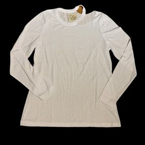 Chaser Women's Long Sleeved T with Cutout Size M